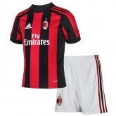 17-18 AC Milan Home Children's Jersey Kit(Shirt+Short)