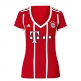 17-18 Bayern Munich Home Women's Jersey Shirt