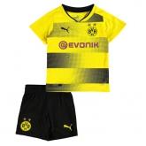17-18 Borussia Dortmund Home Children's Jersey Kit(Shirt+Short)