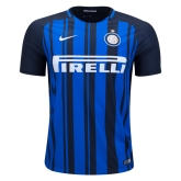 17-18 Inter Milan Home Soccer Jersey Shirt