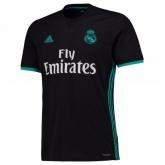 17-18 Real Madrid Away Black Soccer Jersey Shirt