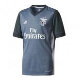 17-18 Benfica Away Dark Grey Soccer Jersey Shirt