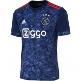 17-18 Ajax Away Navy Soccer Jersey Shirt