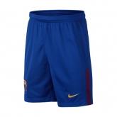 17-18 Barcelona Home Blue Soccer Jersey Short