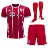 17-18 Bayern Munich Home Jersey Whole Kit(Shirt+Short+Socks)