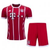17-18 Bayern Munich Home Jersey Kit(Shirt+Short)