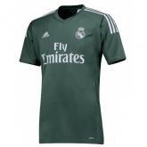 17-18 Real Madrid Goalkeeper Deep Green Jersey Shirt