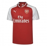 17-18 Arsenal Home Soccer Jersey Shirt