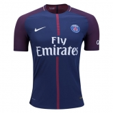 17-18 PSG Home Soccer Jersey Shirt(Player Version)