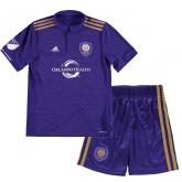 17-18 Orlando City Home Children's Jersey Kit(Shirt+Short)