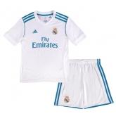 17-18 Real Madrid Home Children's Jersey Kit(Shirt+Short)