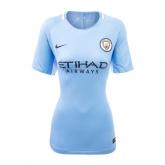 17-18 Manchester City Home Women's Jersey Shirt