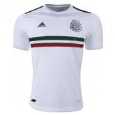 2017 Mexico Away White Women's Jersey Shirt