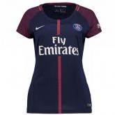 17-18 PSG Home Women's Soccer Jersey Shirt