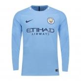 17-18 Manchester City Home Soccer Jersey Shirt