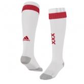17-18 Ajax Home White Soccer Jersey Socks