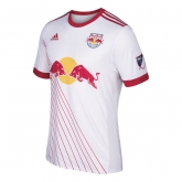 17-18 New York Red Bulls Home White Soccer Jersey Shirt(Player Version)