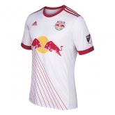 17-18 New York Red Bulls Home White Soccer Jersey Shirt(Player Version)