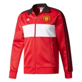 17-18 Mancehster United Red&White Track Jacket