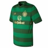 17-18 Celtic Away Green Soccer Jersey Shirt