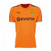 17-18 Borussia Dortmund Goalkeeper Orange Soccer Jersey Shirt