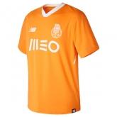 17-18 Porto Away Orange Soccer Jersey Shirt