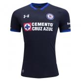 17-18 CDSC Cruz Azul Third Away Black Soccer Jersey Shirt