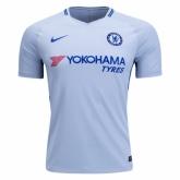 17-18 Chelsea Away White Soccer Jersey Shirt