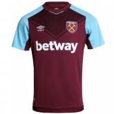 17-18 West Ham United Home Soccer Jersey Shirt