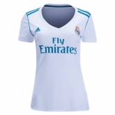 17-18 Real Madrid Home Women's Jersey Shirt