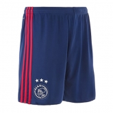 17-18 Ajax Away Blue Soccer Jersey Short