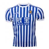 17-18 Real Sociedad Home Soccer Jersey Shirt