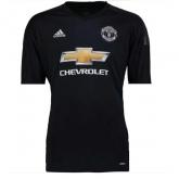 17-18 Manchester United Goalkeeper Black Jersey Shirt