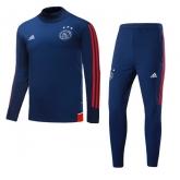 17-18 Ajax  Navy Training Kit(Turtleneck Shirt+Trouser)