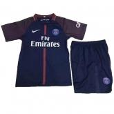 17-18 PSG Home Children's Jersey Kit(Shirt+Short)