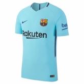 17-18 Barcelona Away Blue Soccer Jersey Shirt