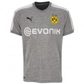 17-18 Borussia Dortmund Third Away Gray Soccer Jersey Shirt