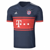 17-18 Bayern Munich Away Navy Jersey Shirt
