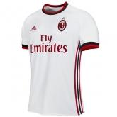 17-18 AC Milan Away White Soccer Jersey Shirt