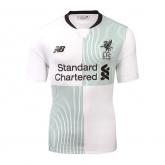 17-18 Liverpool Away White Soccer Jersey Shirt