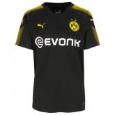 17-18 Borussia Dortmund Away Black Soccer Jersey Shirt