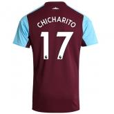 17-18 West Ham United Home CHICHARITO #17 Soccer Jersey Shirt