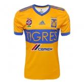 17-18 Tigres UANL Home Soccer Jersey Shirt