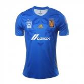 17-18 Tigres UANL Away Blue Soccer Jersey Shirt