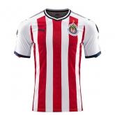 17-18 Deportivo Guadalajara Red&White Home Jersey Shirt