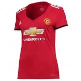 17-18 Manchester United Home Women's Jersey Shirt