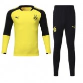 17-18 Borussia Dortmund Yellow Training Kit(Sweater+Trouser)