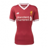 17-18 Liverpool Home Women's Jersey Shirt