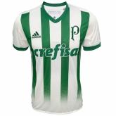 17-18 Palmeiras Away Green&White Soccer Jersey Shirt