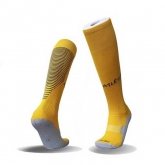 17-18 Atletico Madrid Away Yellow Jersey Socks